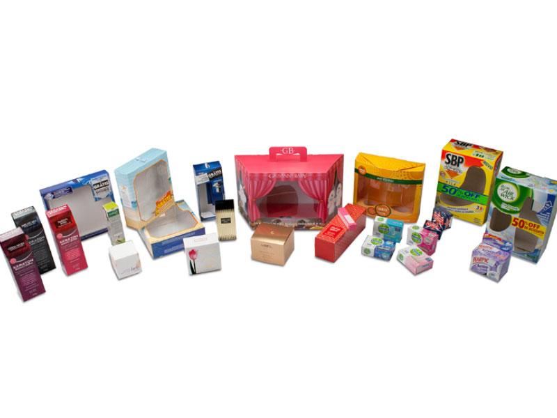 Embalagens em papel cartão