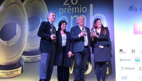 Congraf recebe três troféus no Prêmio Embanews 2017